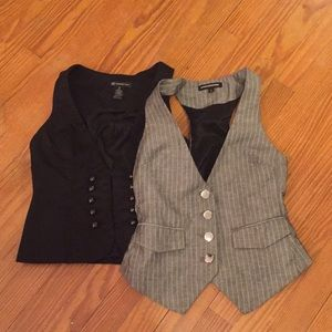 Two vests. Size 2 and 0